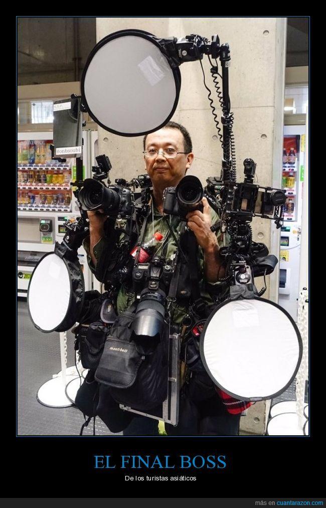 asiático,cámara de fotos,final boss