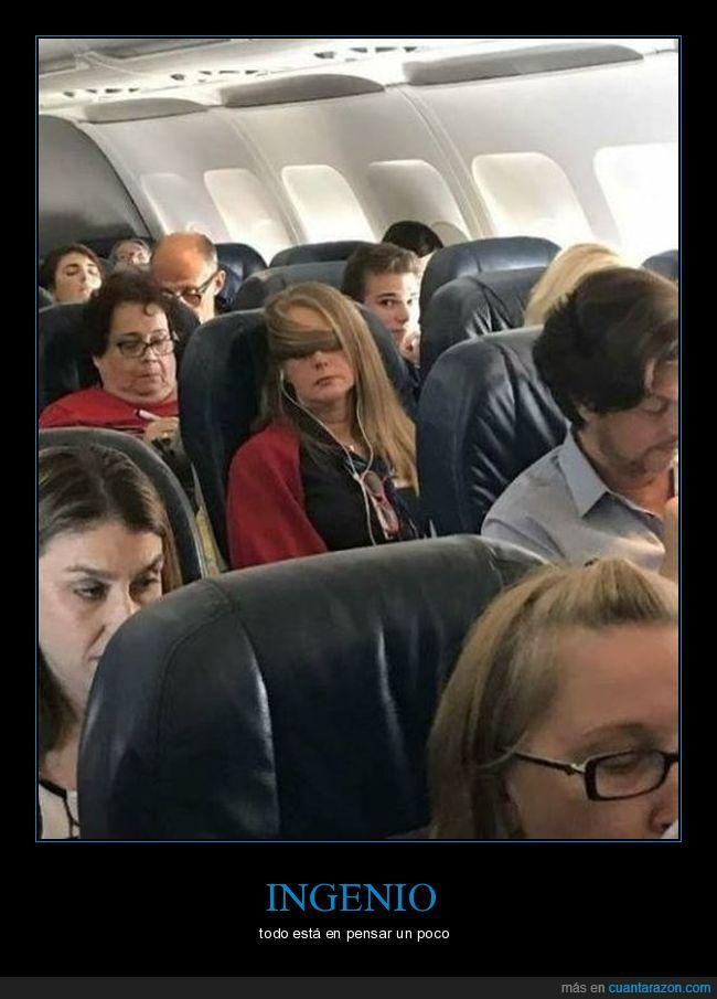 avión,cabello,chica,pelo