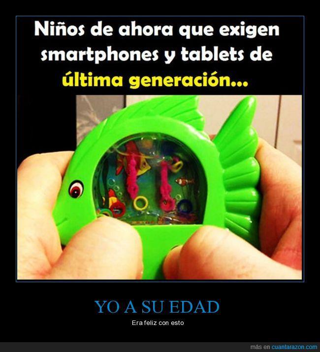 juguetes,niños,smartphones,spinners,tablets