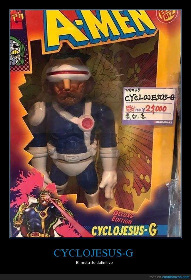 cyclojesus,muñeco,mutante,wtf