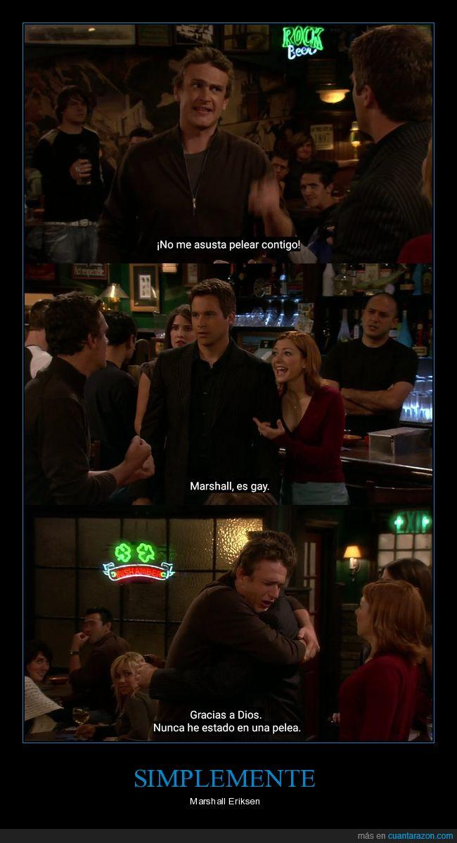 HIMYM,how i met your mother,humor,marshall,Serie