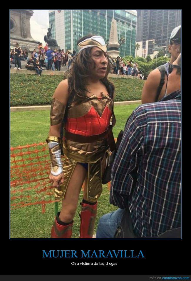 cosplay,drogas,mujer maravilla,Wonder woman