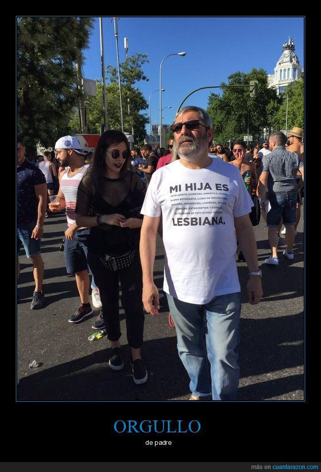 camiseta,hija,lesbiana