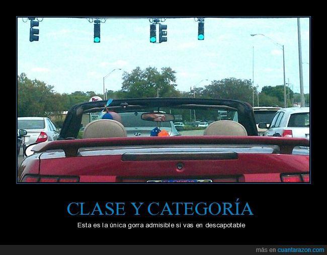 coche,descapotable,gorra,hélice