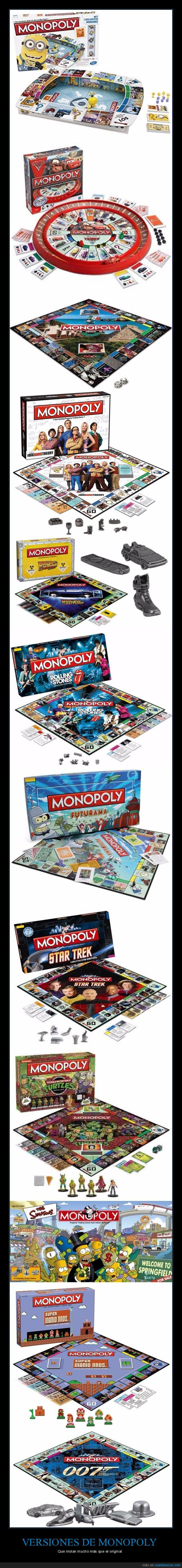 monopoly,original,versiones