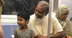Enlace a La foto viral del metro de Nueva York que da una lección al racismo