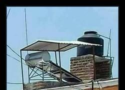 Enlace a WTF ¿La solución para disimular los paneles solares? Me temo que no