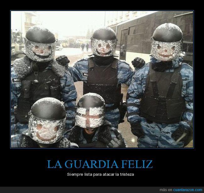 caras,guardia,soldados