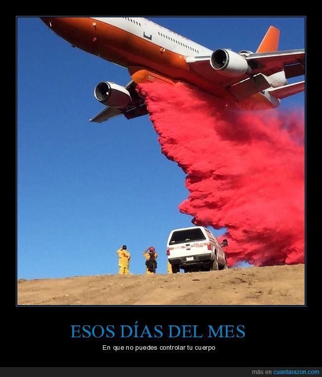 avión,polvo rojo,regla