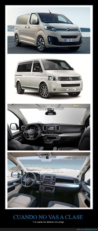 Citroen SpaceTourer,coches,plagio,VW