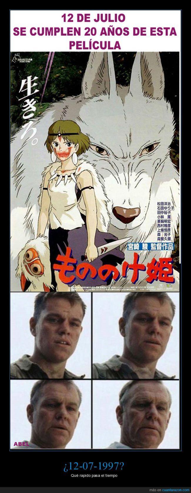 Ghibli,La Princesa Mononoke. Anime,Miyazaki
