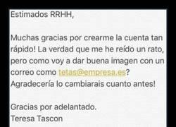 Enlace a Teresa Tascón pide un cambio en su correo electrónico y descubre que Ramón es su match perfecto