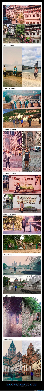 antes,después,fotos,localización,mismo sitio