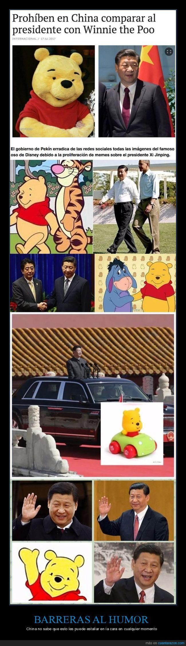 chinos,presidentes,winnie the pooh
