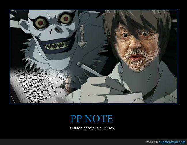 Black,Corrupción,Death Note,Gurtel,PP
