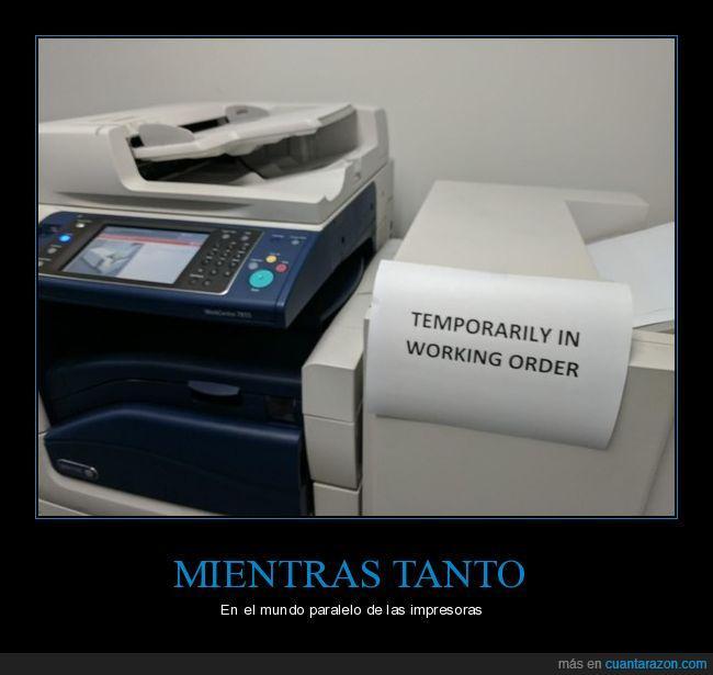 funcionando,impresora