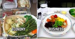 Enlace a Así son los menús de primera clase y de clase turista en 8 aerolíneas distintas