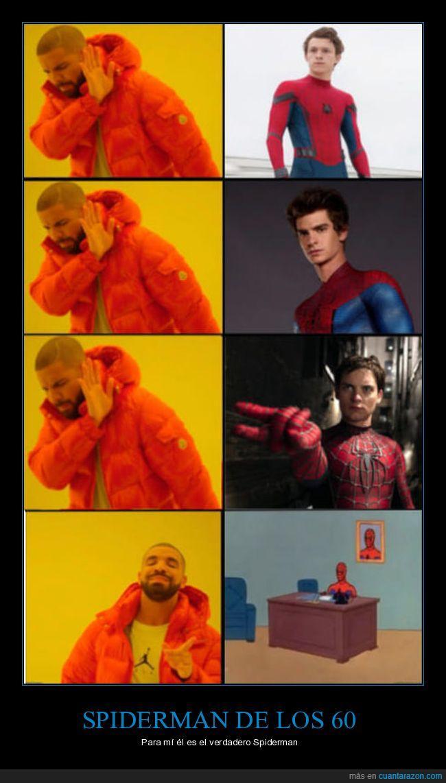 drake,épocas,spiderman
