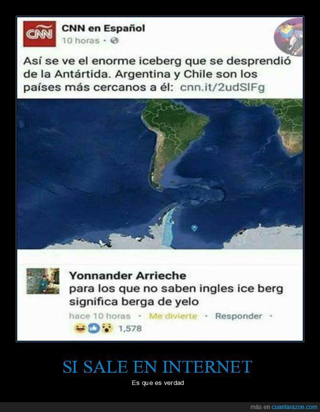 berga de yelo,ice berg,iceberg,traducción