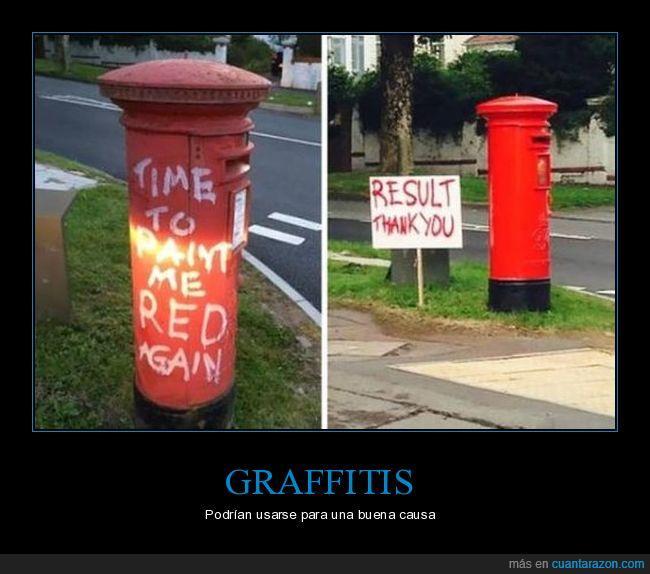 buzón de correos,pintada