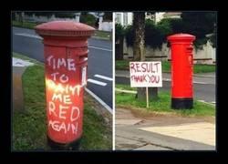 Enlace a Si los grafittis en cosas sirvieran para algo