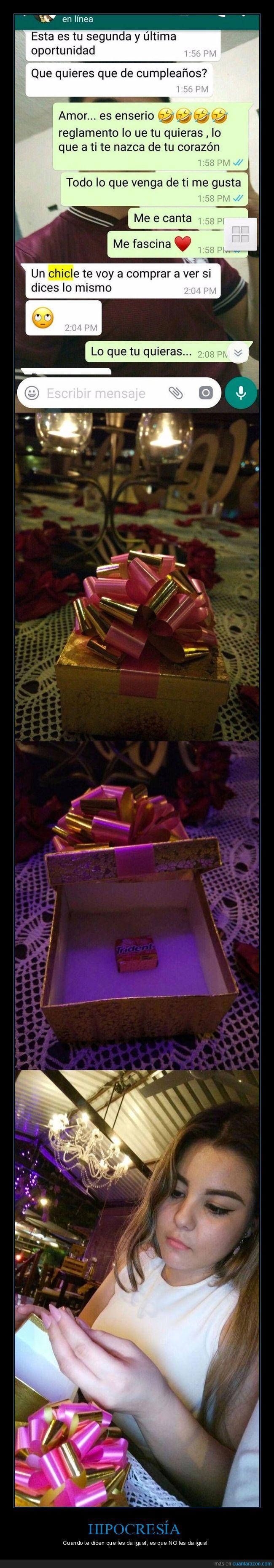 chicle,cumpleaños,regalo