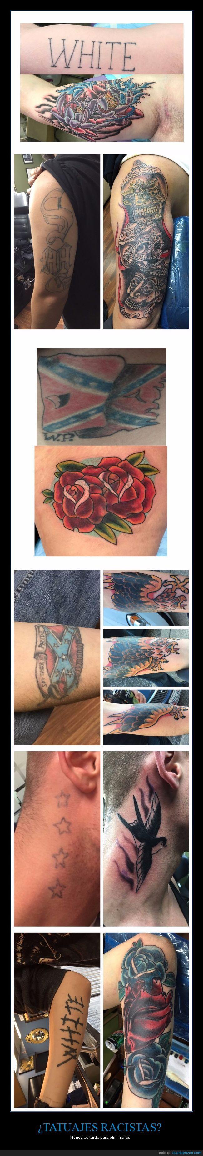 cambiar,tatuajes,tatuajes racistas