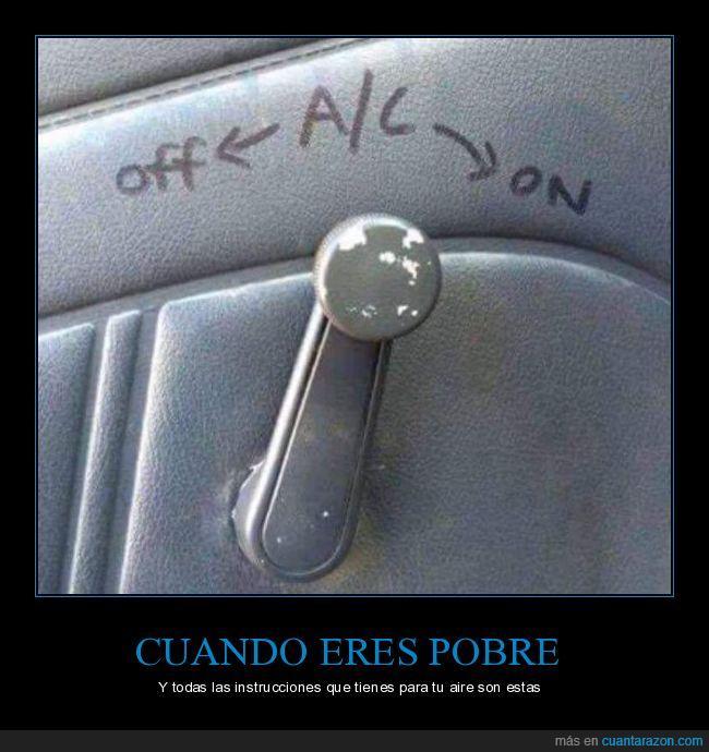 ac,aire,coche,manivela,ventanilla