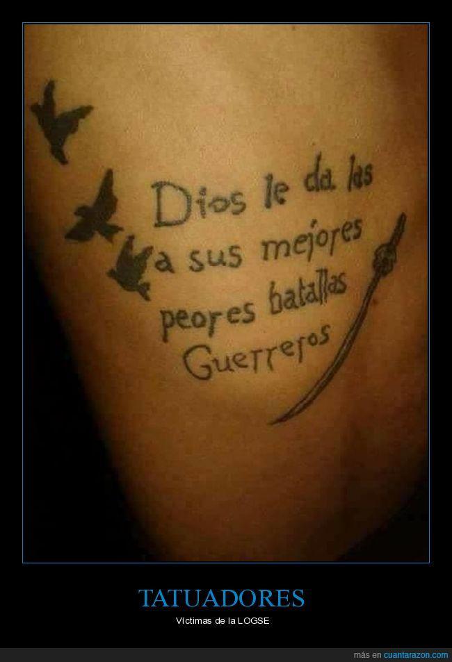 alas,fail,ortografía,tatuaje