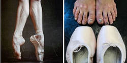 Enlace a 13 IMPACTANTES fotos de las bailarinas de Ballet ruso detrás del telón