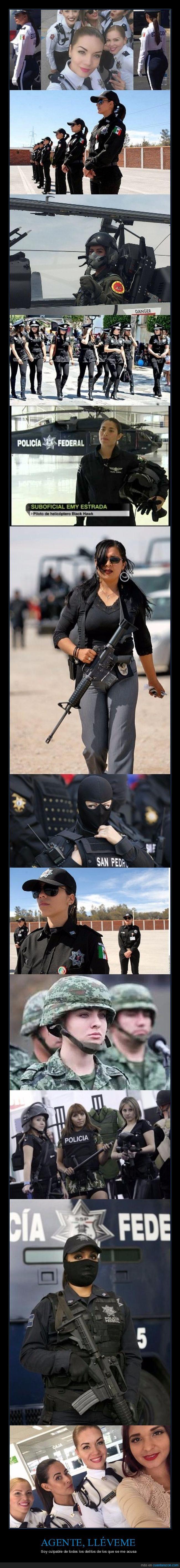 mexico,mujeres,policía