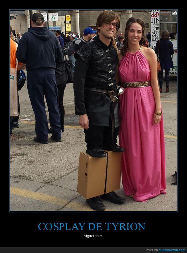 cosplay,enano,got,juego de tronos,tyrion lannister