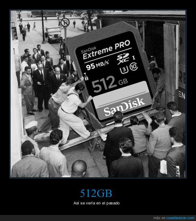 512gb,antes,antiguo,memoria,sandisk