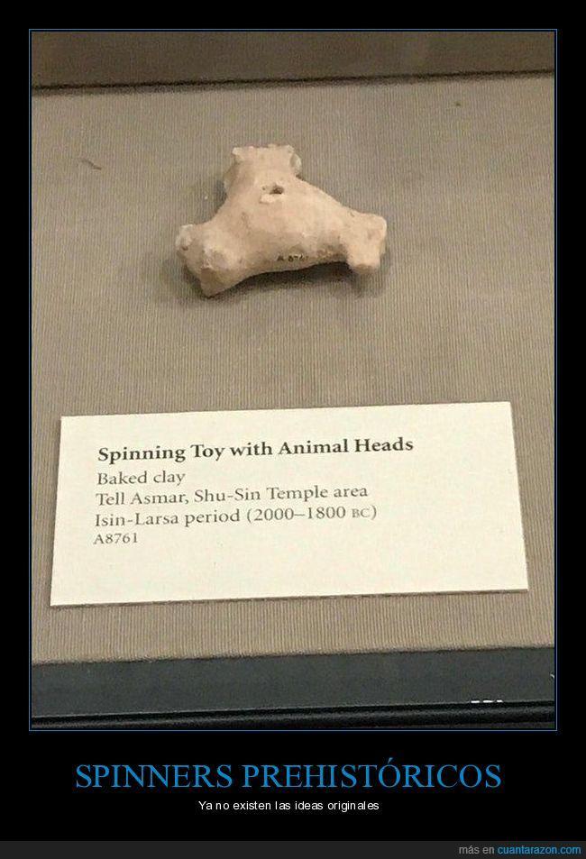 juguete,prehistoria,spinner
