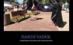 Enlace a Darth Vader usando la fuerza