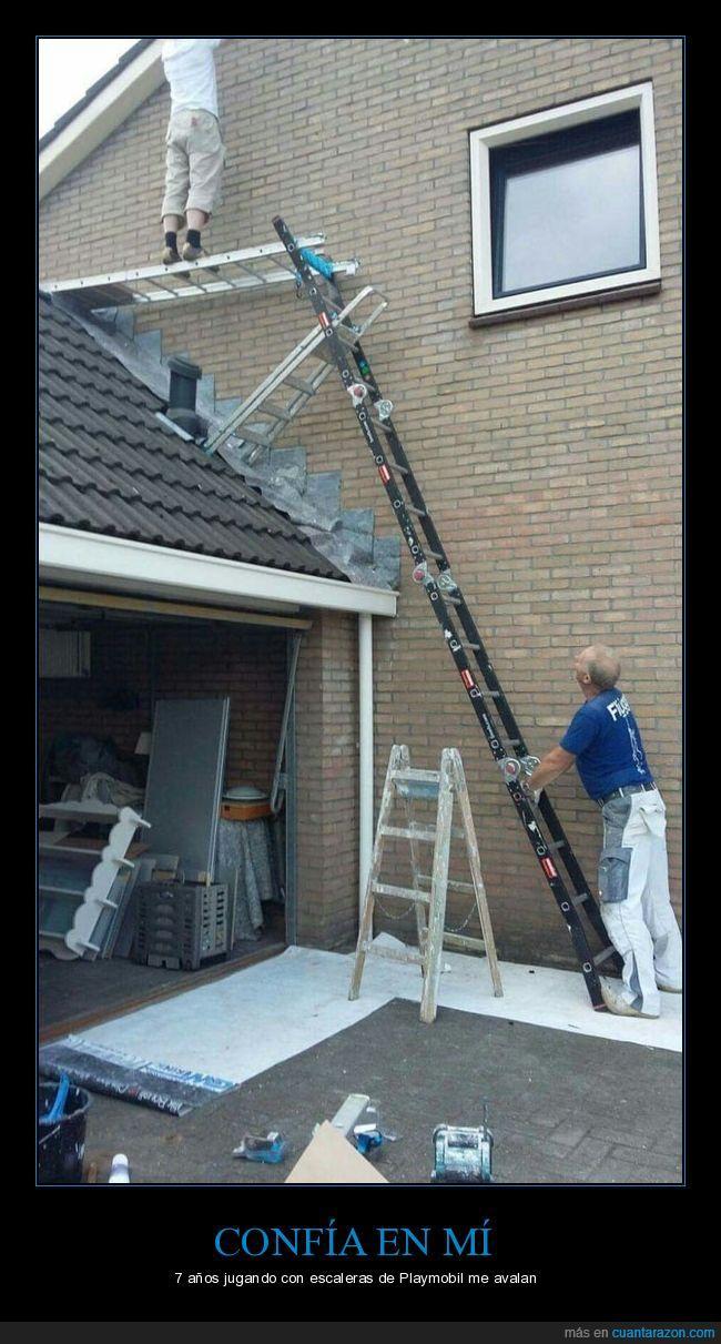 casa,escalera,fiable,obra