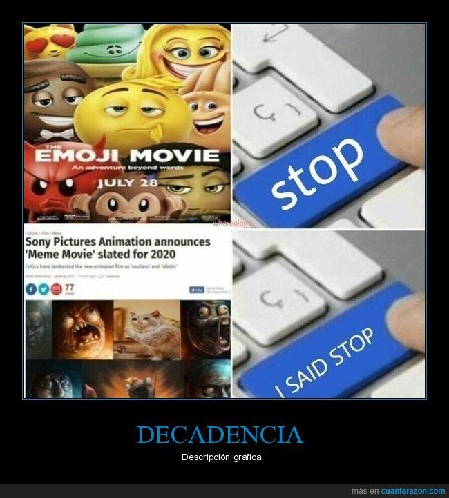 emojis,memes,película
