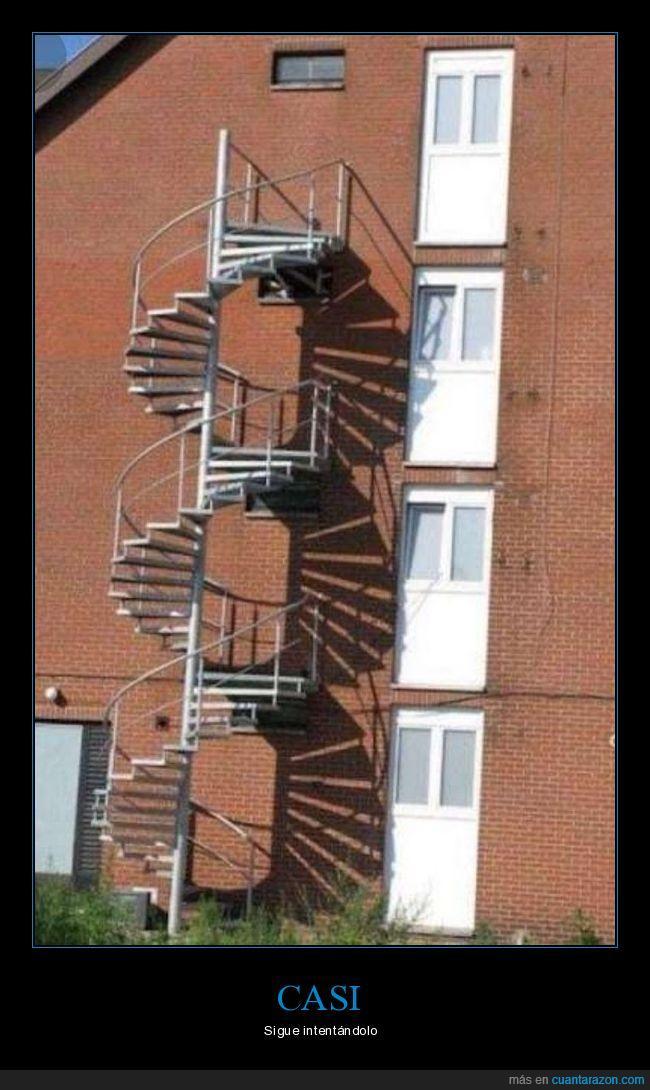 caracol,edificio,escaleras