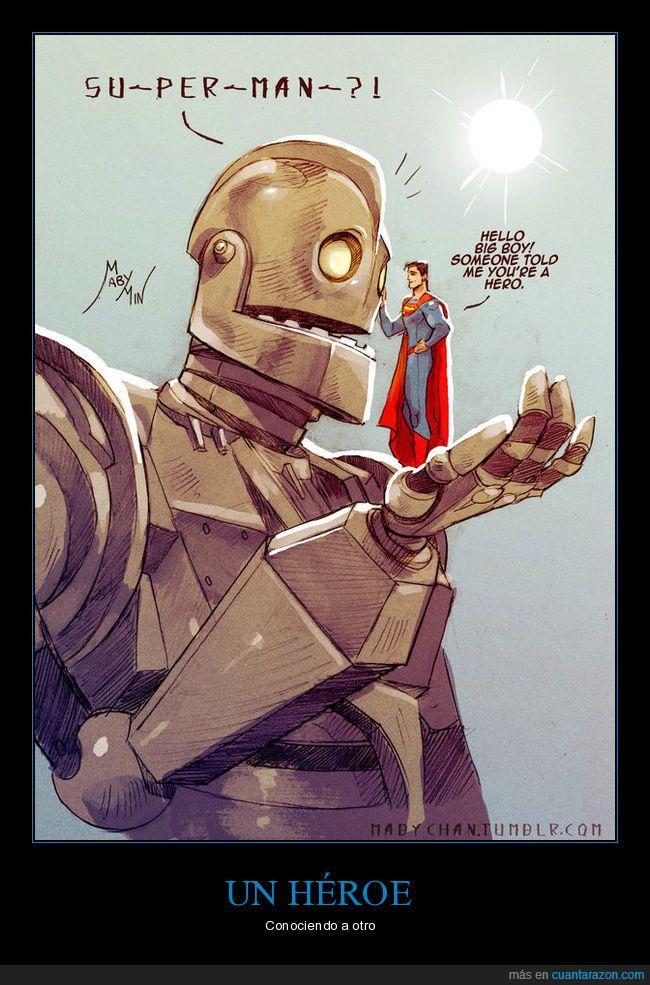 gigante de hierro,superman,una de las mejores películas de todas
