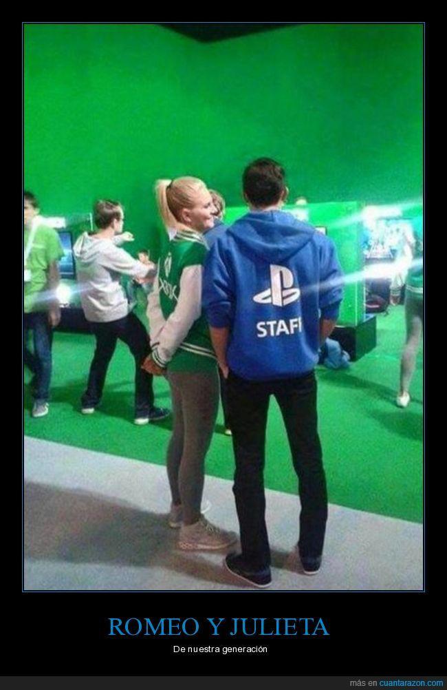 Chica,Chico,Convención,Play Station,Staff,Xbox