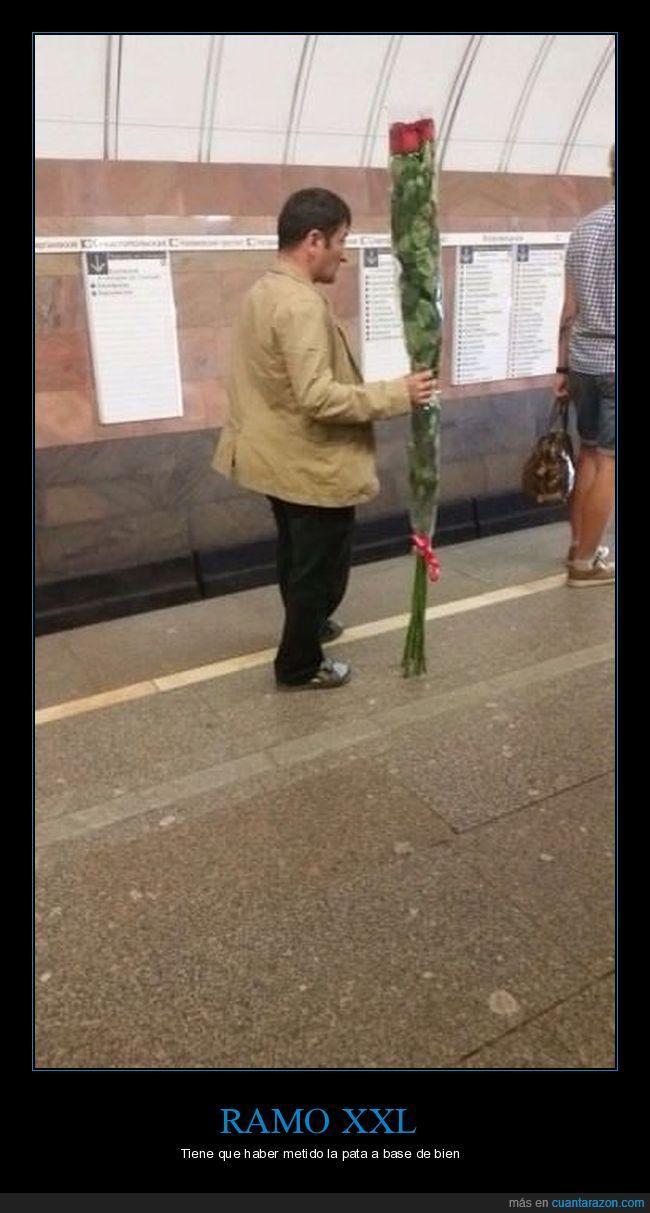 disculpas,flores,ramo,xxl