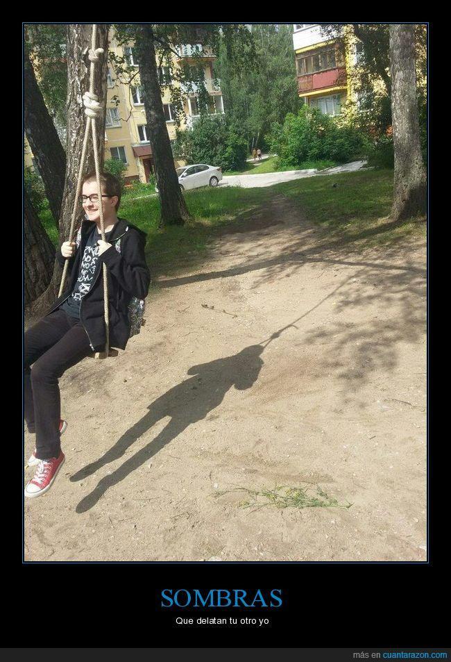 columpio,soga,sombra