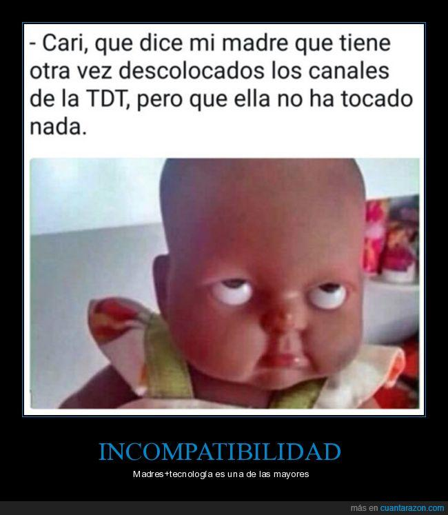 canales,madre,reprogramar,tdt
