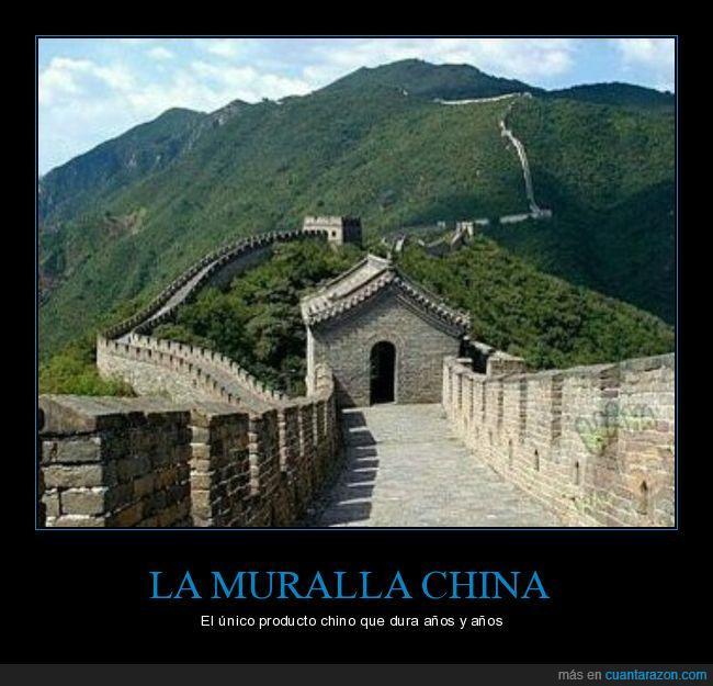 chino,mala calidad,muralla china