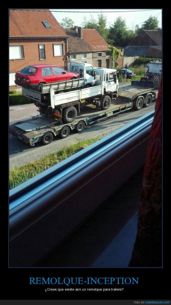 averiado,camión,coche,furgoneta,trailer