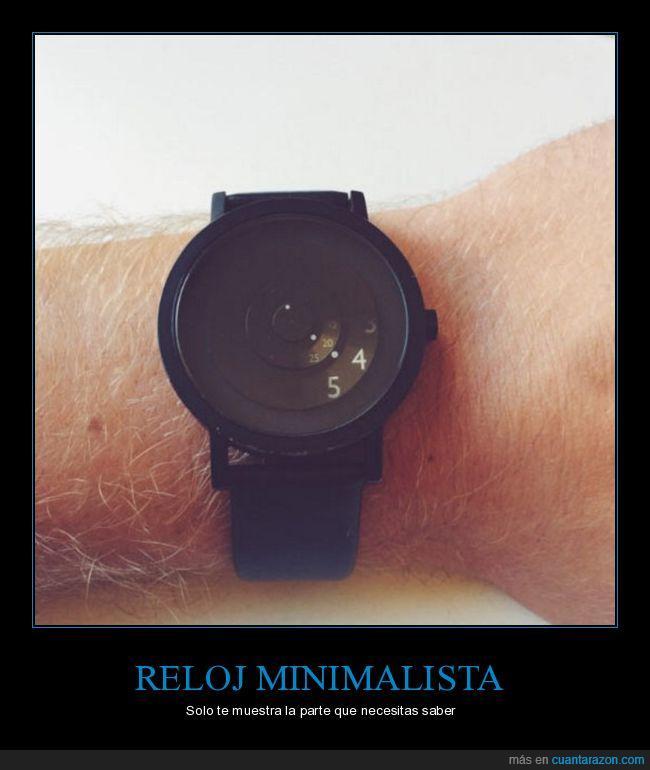 hora,minimalista,reloj