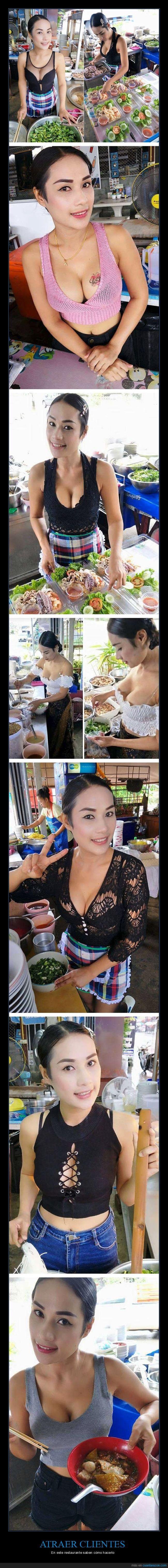 atraer,restaurante,sorpresa,thai,thailandia