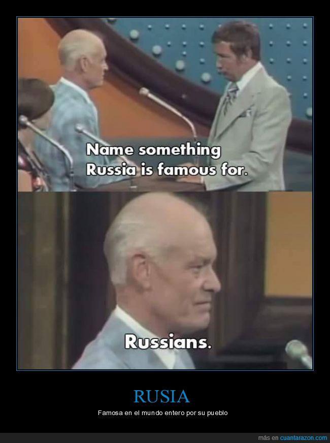 excéntrico,fama,famosa,mientras tanto en Rusia,pueblo,Rusia,Rusos