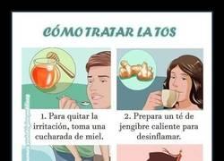 Enlace a Tratar la tos en 4 sencillos pasos