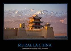Enlace a Aquí empieza la MURALLA CHINA